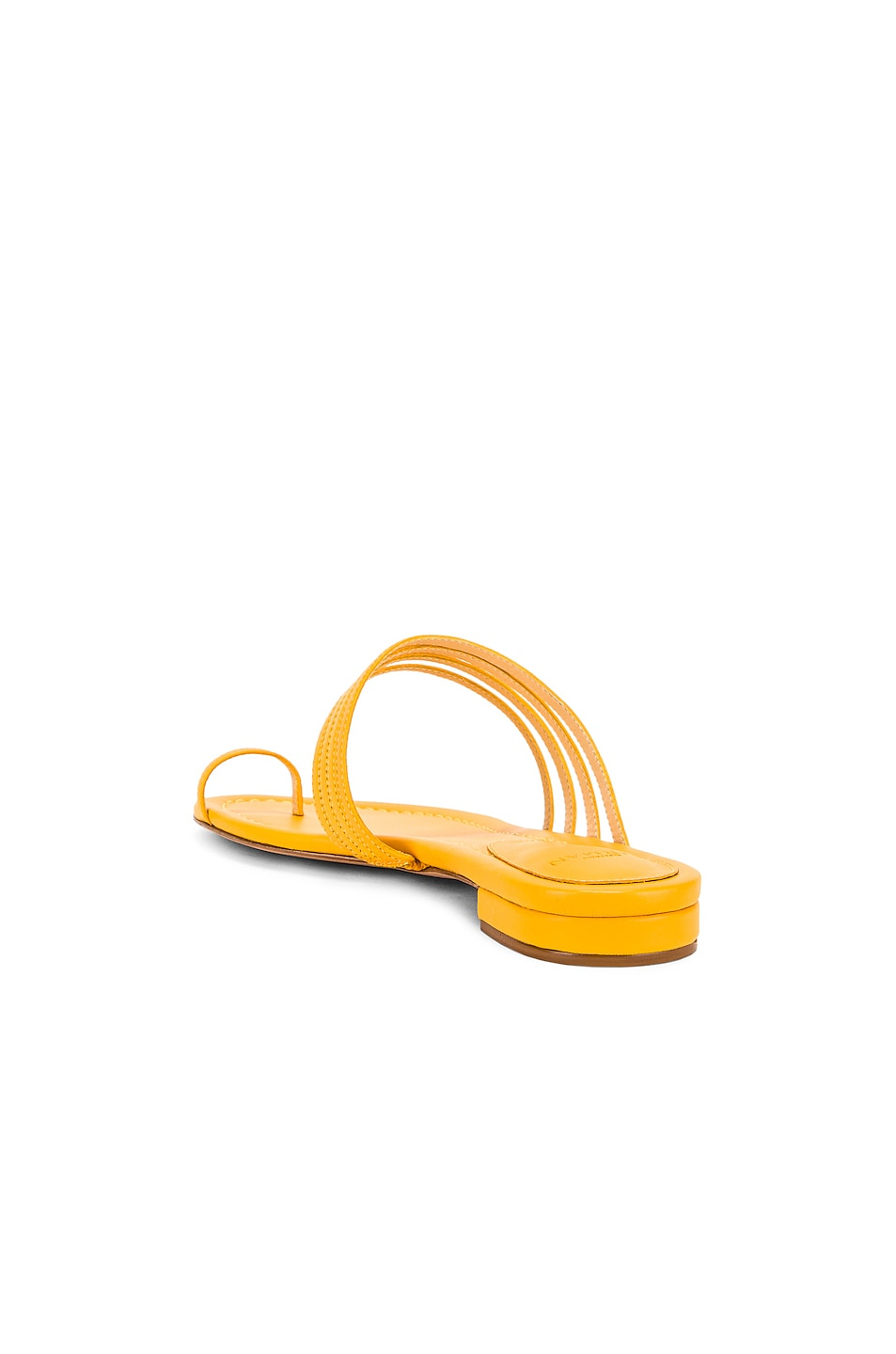 Image 3 of Alexandre Birman Strappy Flat Sandal in Sunflower