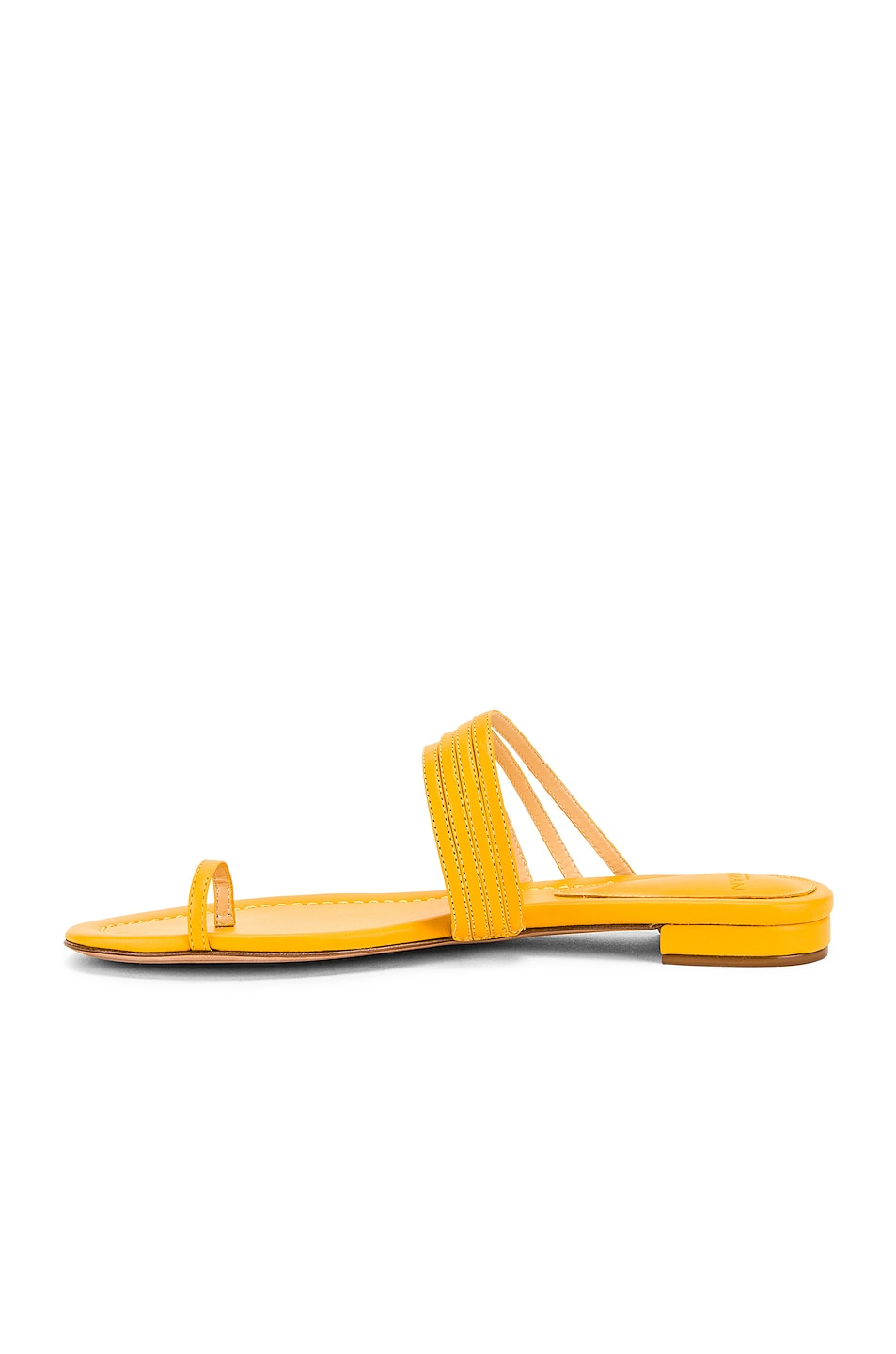 Image 5 of Alexandre Birman Strappy Flat Sandal in Sunflower