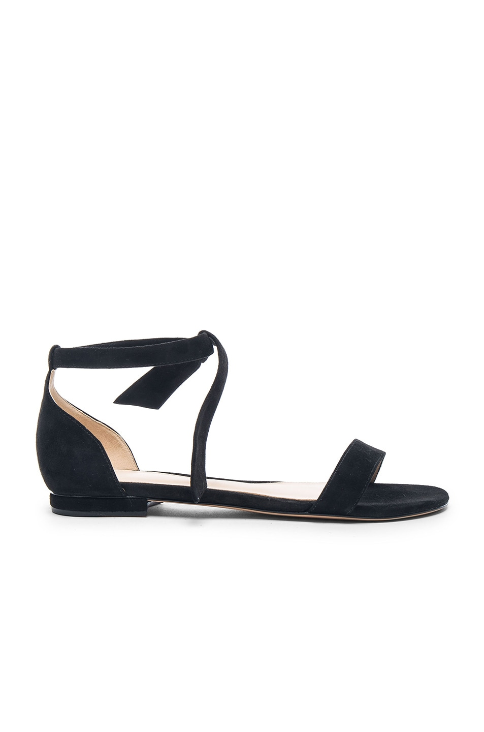 Image 1 of Alexandre Birman Clarita Sandals in Black Suede