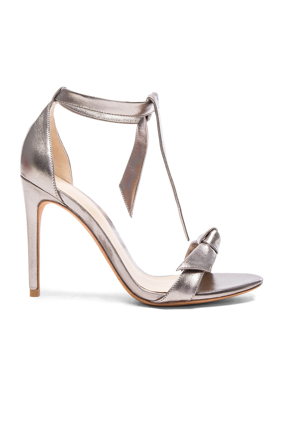 Image 1 of Alexandre Birman Leather Clarita Heels in Limestone