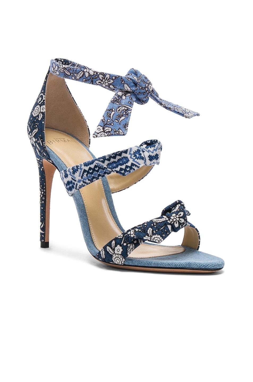 Largest Supplier Cheap Price Footlocker For Sale ALEXANDRE BIRMAN Canvas Lolita 100 Sandals in Indigo & Sale Discounts vNr4w