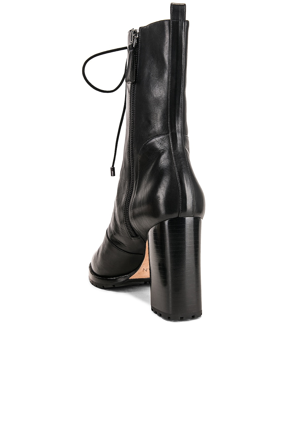 Image 3 of Alexandre Birman Lace Up Combat Boots in Black