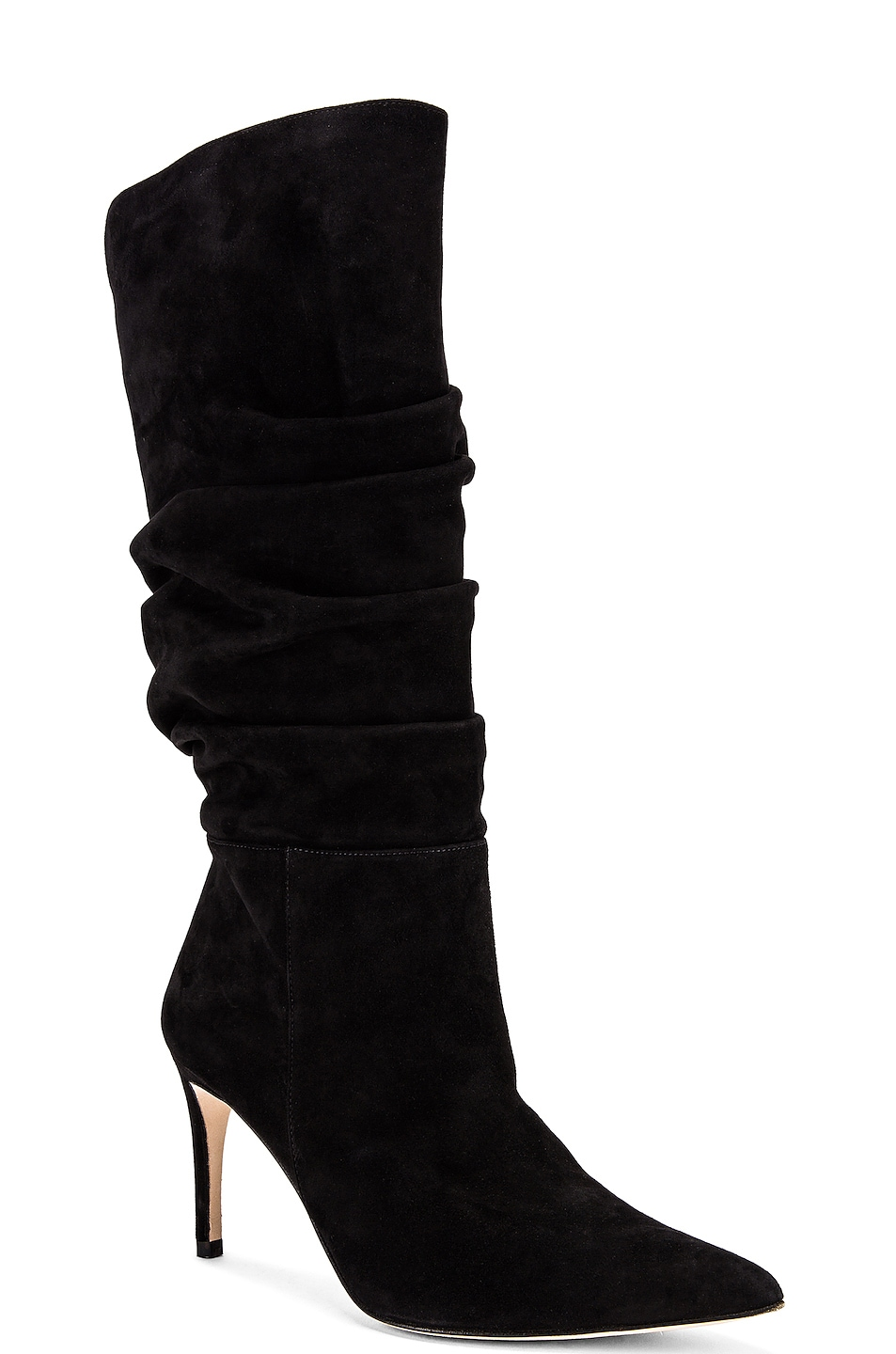 Image 2 of Alexandre Birman Lucy Suede Boots in Black