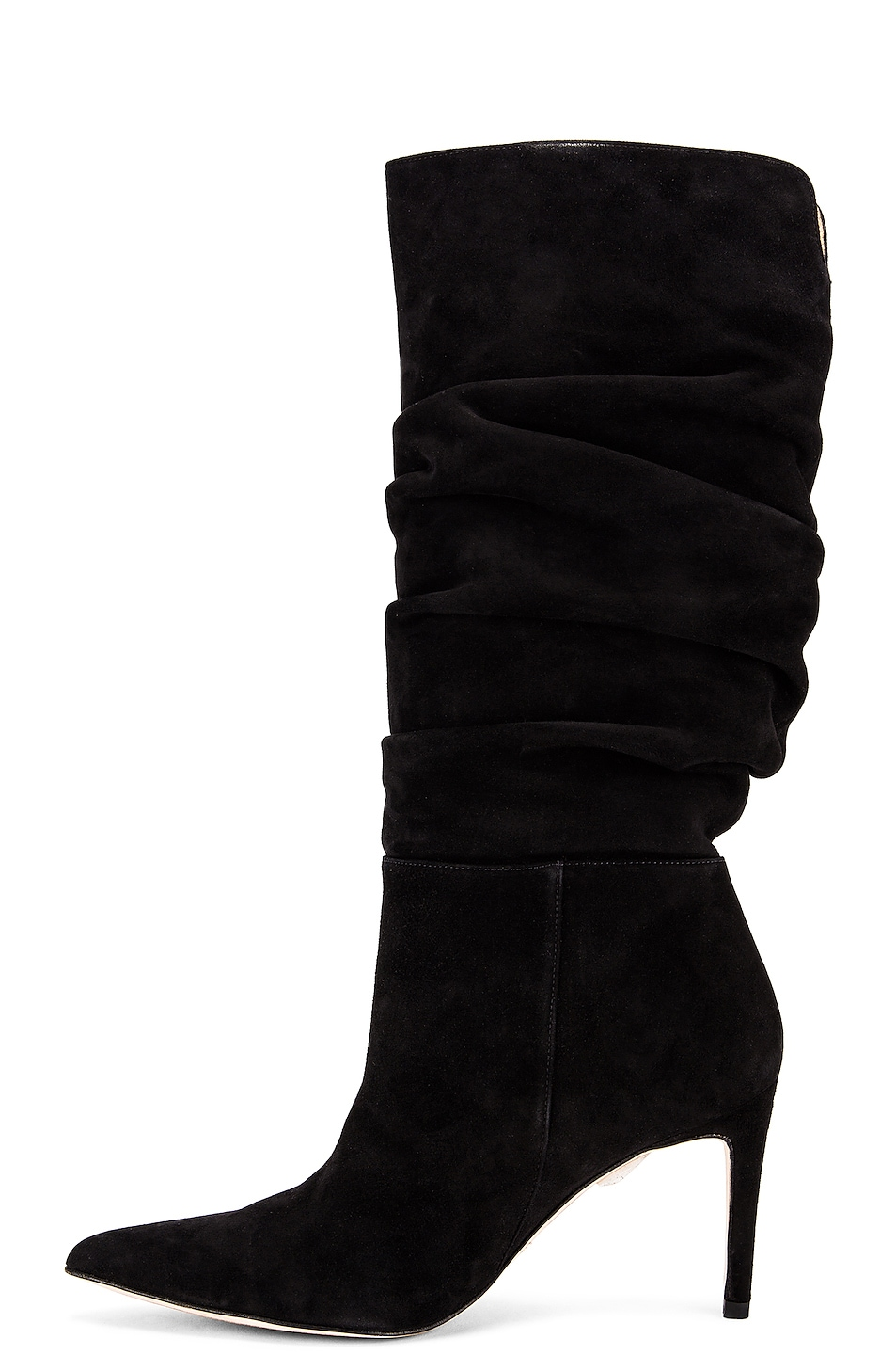 Image 5 of Alexandre Birman Lucy Suede Boots in Black