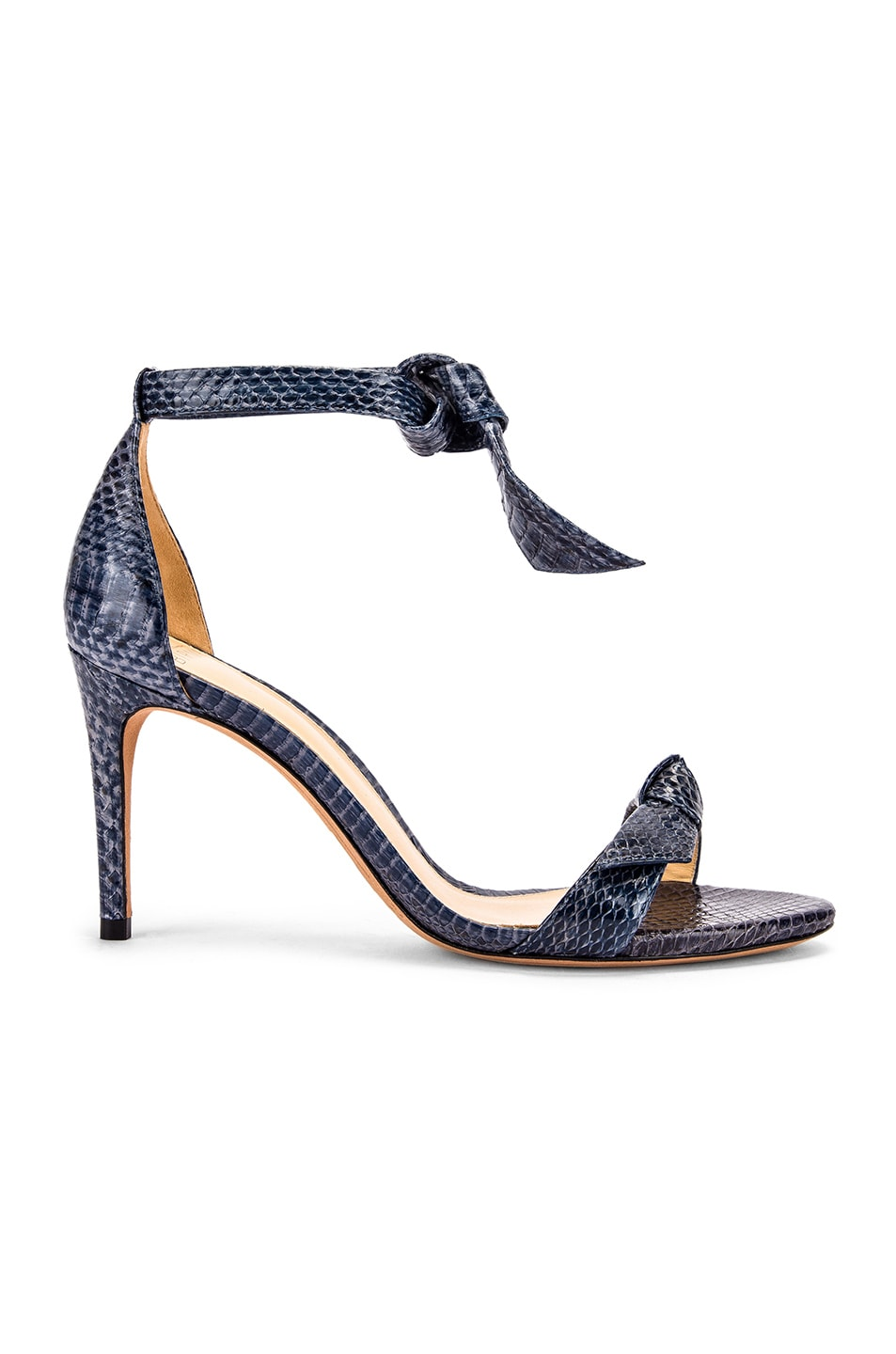 Image 1 of Alexandre Birman Clarita Ankle Strap Sandals in Marine
