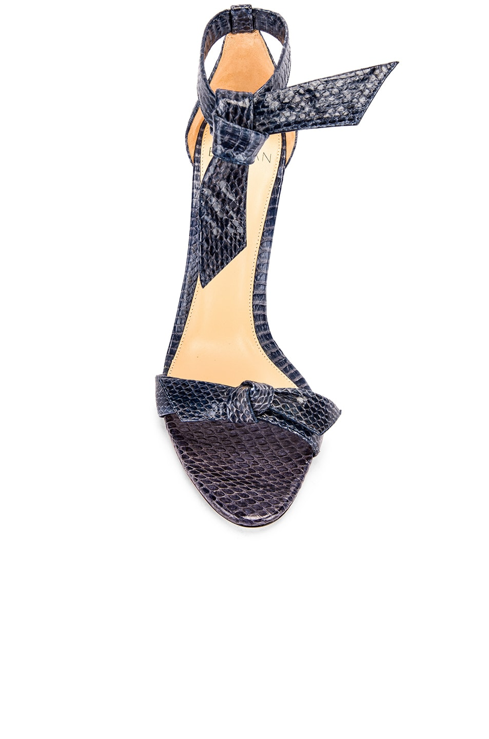 Image 4 of Alexandre Birman Clarita Ankle Strap Sandals in Marine