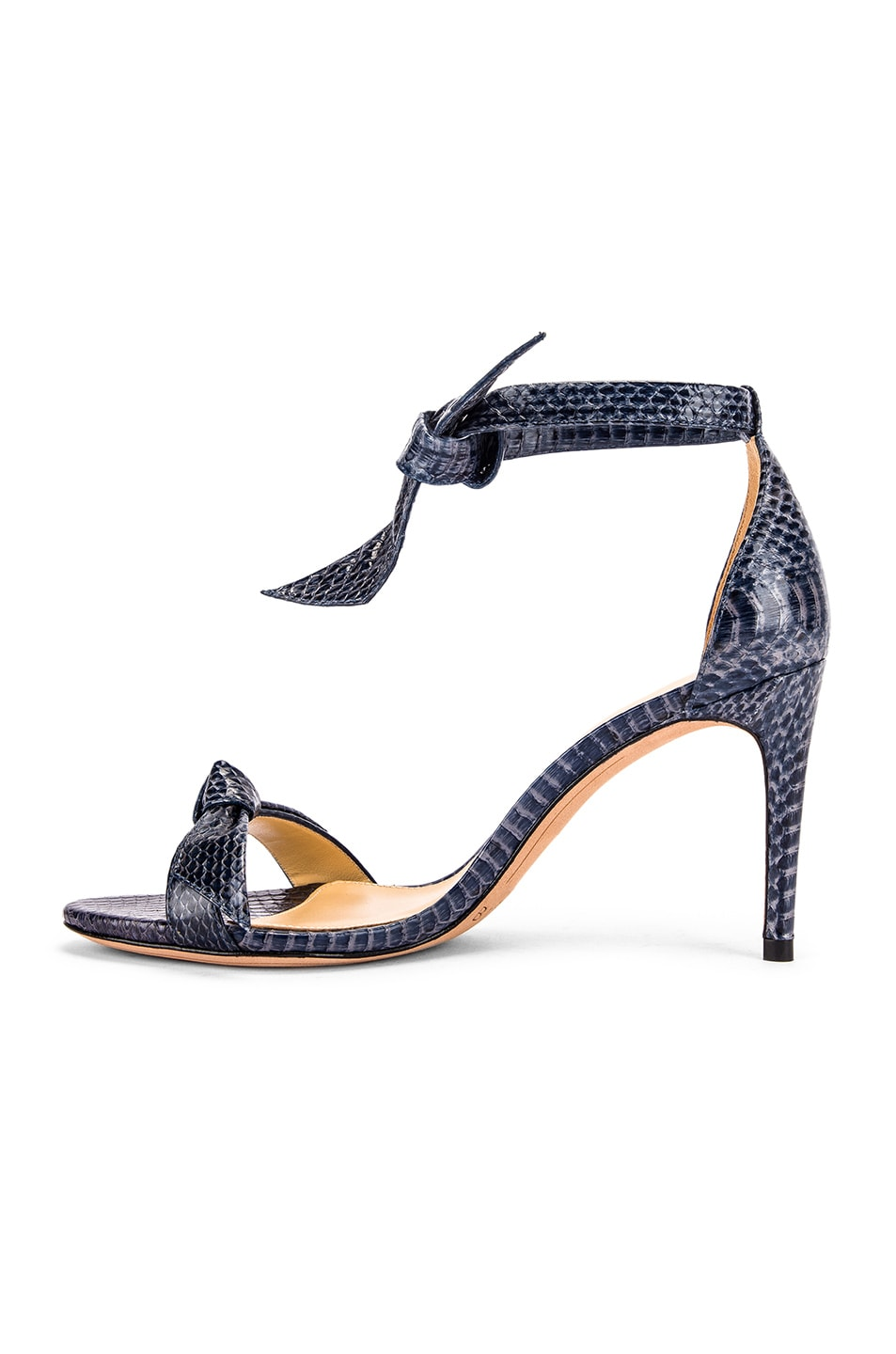 Image 5 of Alexandre Birman Clarita Ankle Strap Sandals in Marine