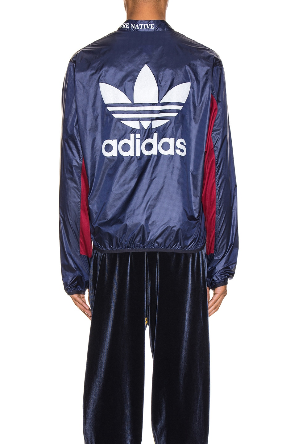 Image 5 of adidas x Bed J.W. Ford Windbreaker BF in Legend Ink F17