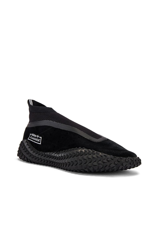 Image 1 of adidas x Bed J.W. Ford Kamanda BF in Core Black & Core Black & Silver Met Me