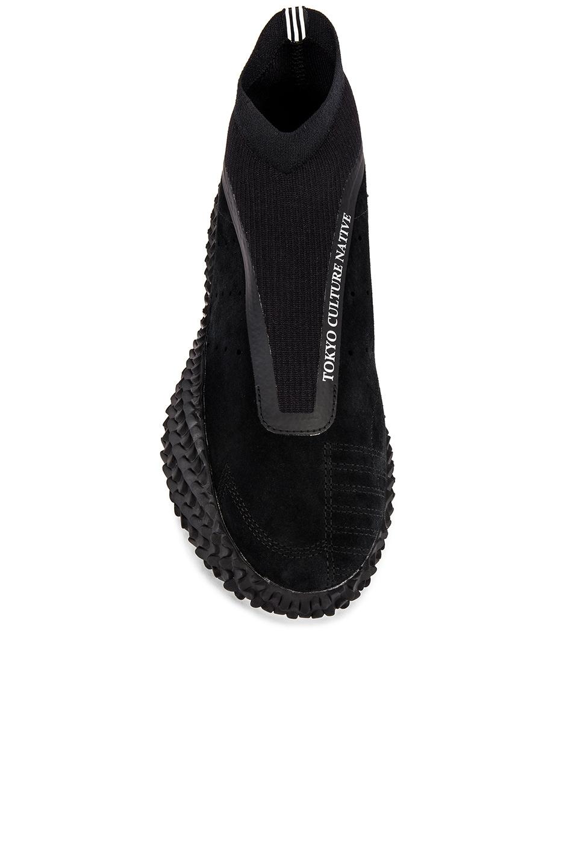 Image 4 of adidas x Bed J.W. Ford Kamanda BF in Core Black & Core Black & Silver Met Me