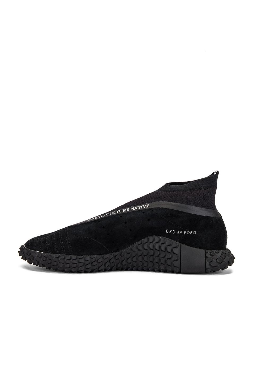 Image 5 of adidas x Bed J.W. Ford Kamanda BF in Core Black & Core Black & Silver Met Me