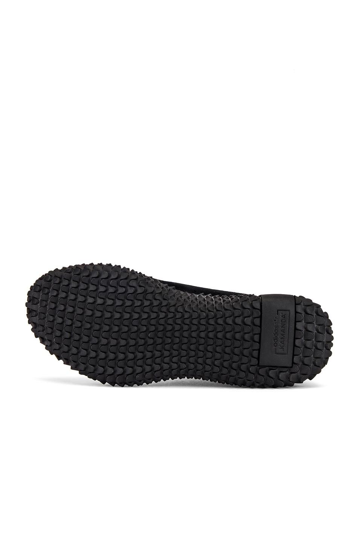 Image 6 of adidas x Bed J.W. Ford Kamanda BF in Core Black & Core Black & Silver Met Me