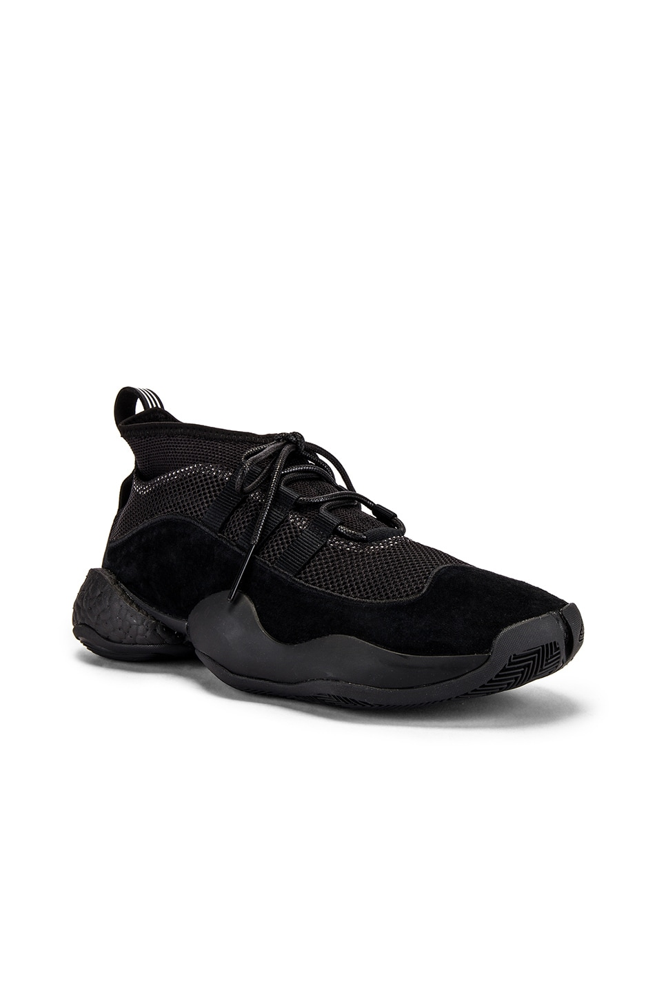 Image 1 of adidas x Bed J.W. Ford Crazy BYW BF in Core Black & Core Black & Silver Met Me