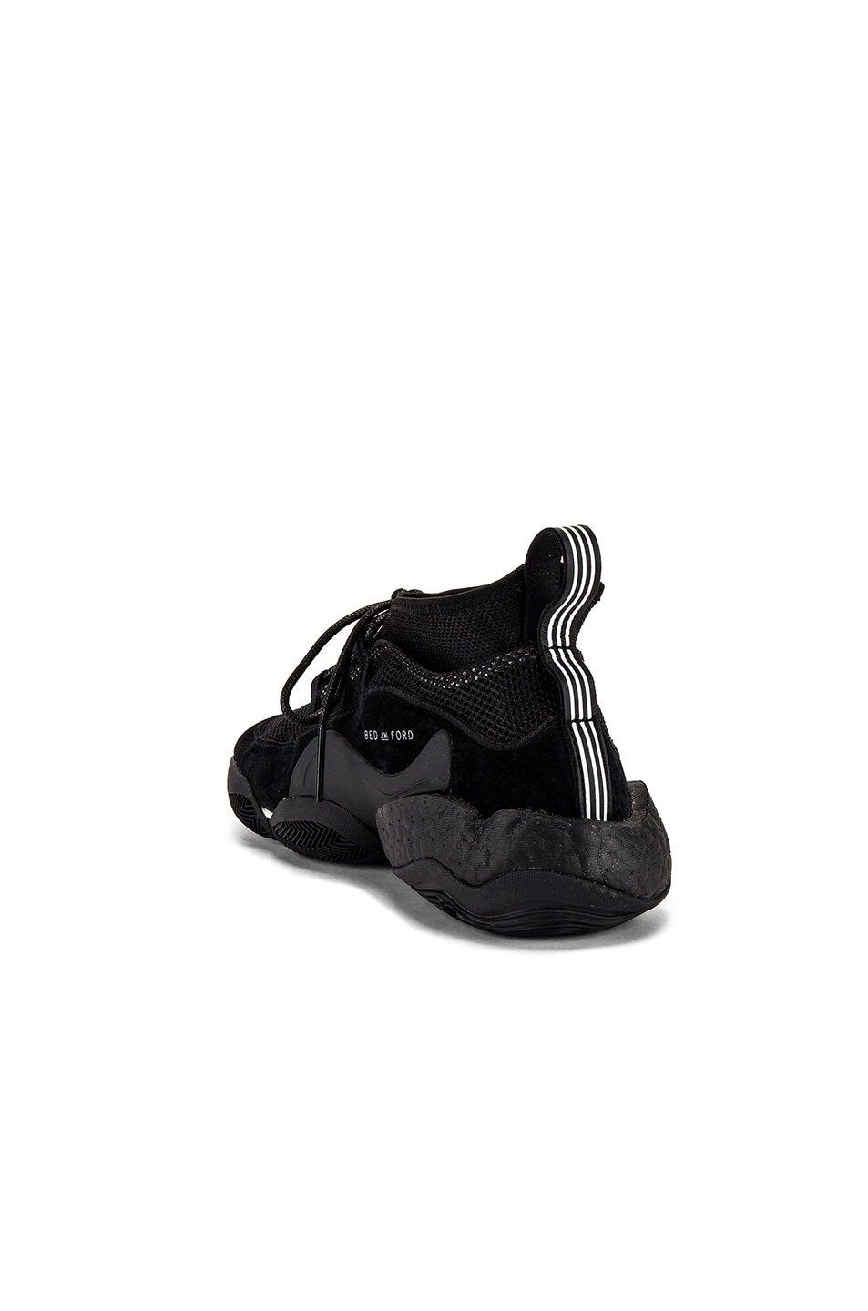 Image 3 of adidas x Bed J.W. Ford Crazy BYW BF in Core Black & Core Black & Silver Met Me