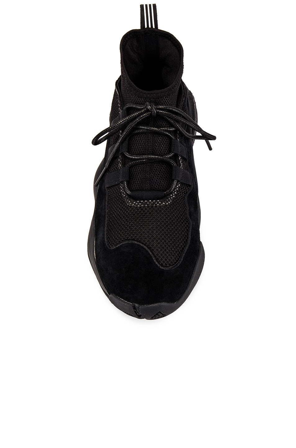 Image 4 of adidas x Bed J.W. Ford Crazy BYW BF in Core Black & Core Black & Silver Met Me