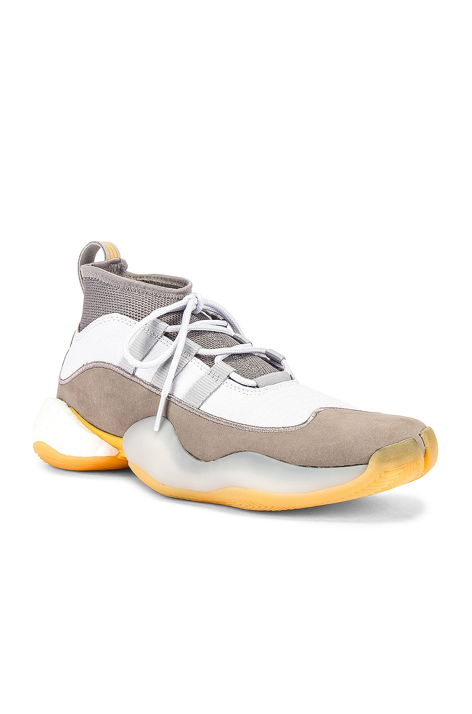 Image 1 of adidas x Bed J.W. Ford Crazy BYW Sneaker in Grey & White