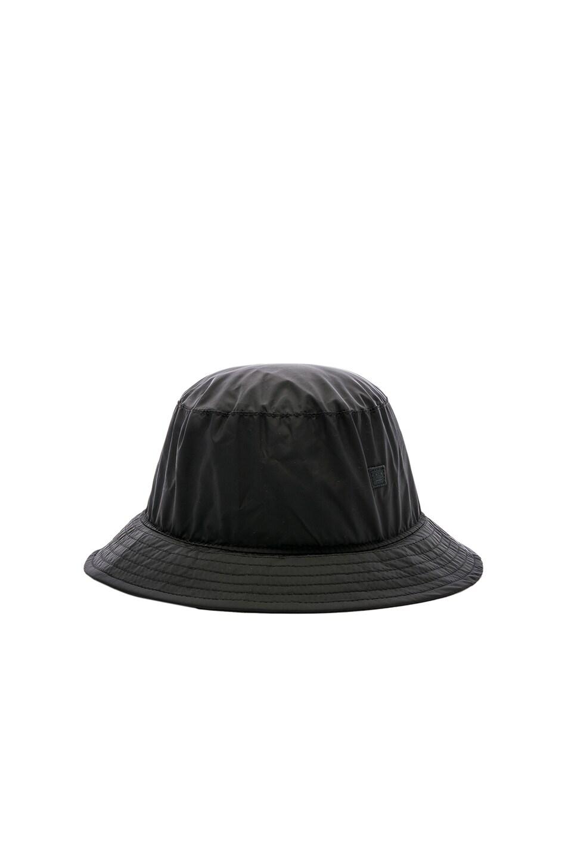 Image 1 of Acne Studios BUK Face Tech Hat in Black