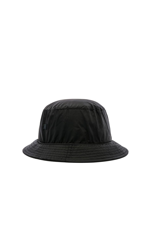 Image 3 of Acne Studios BUK Face Tech Hat in Black