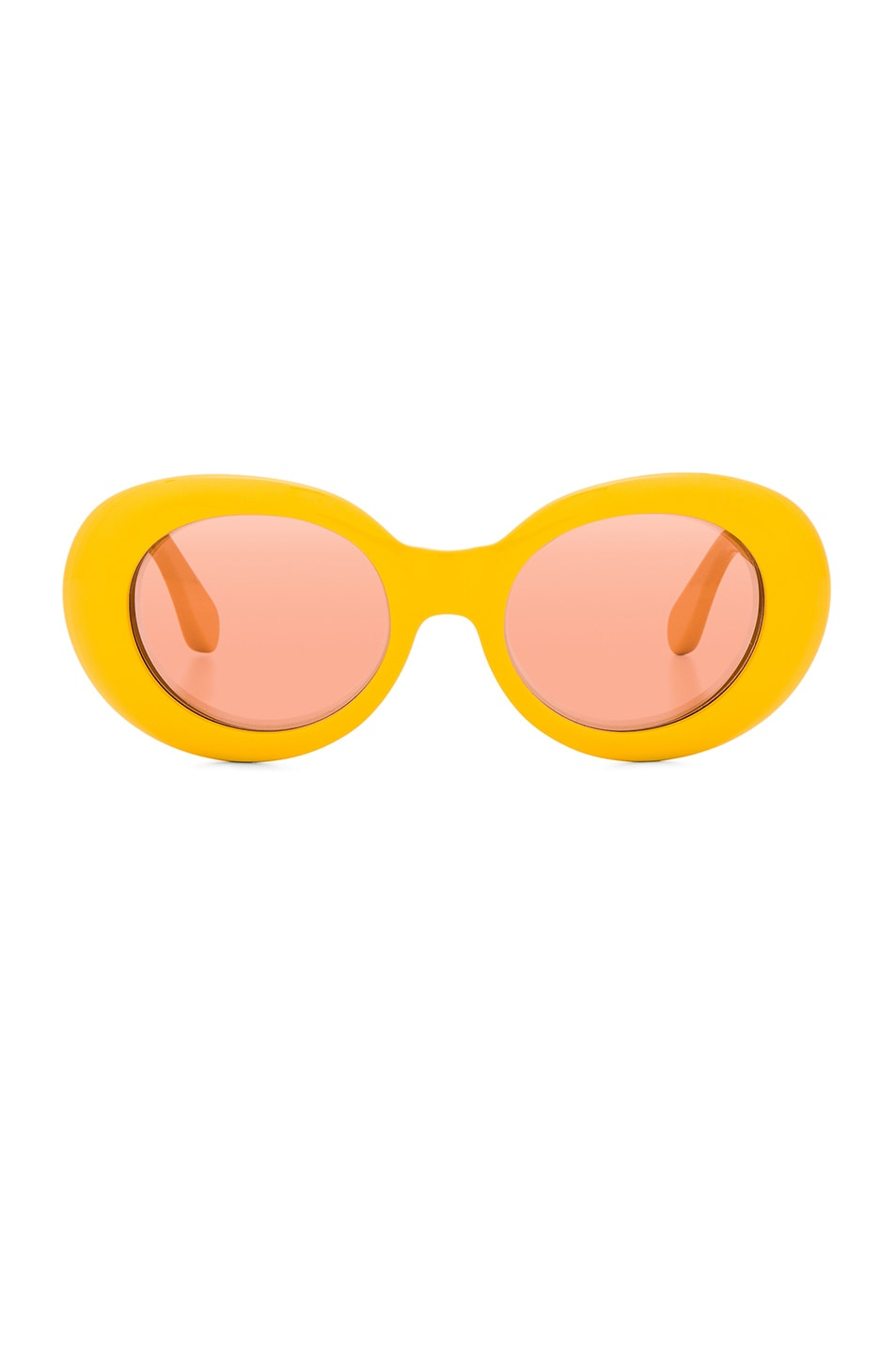 Image 1 of Acne Studios Mustang Sunglasses in Yellow