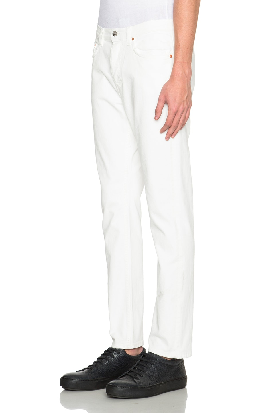 Image 2 of Acne Studios Town in White Vintage