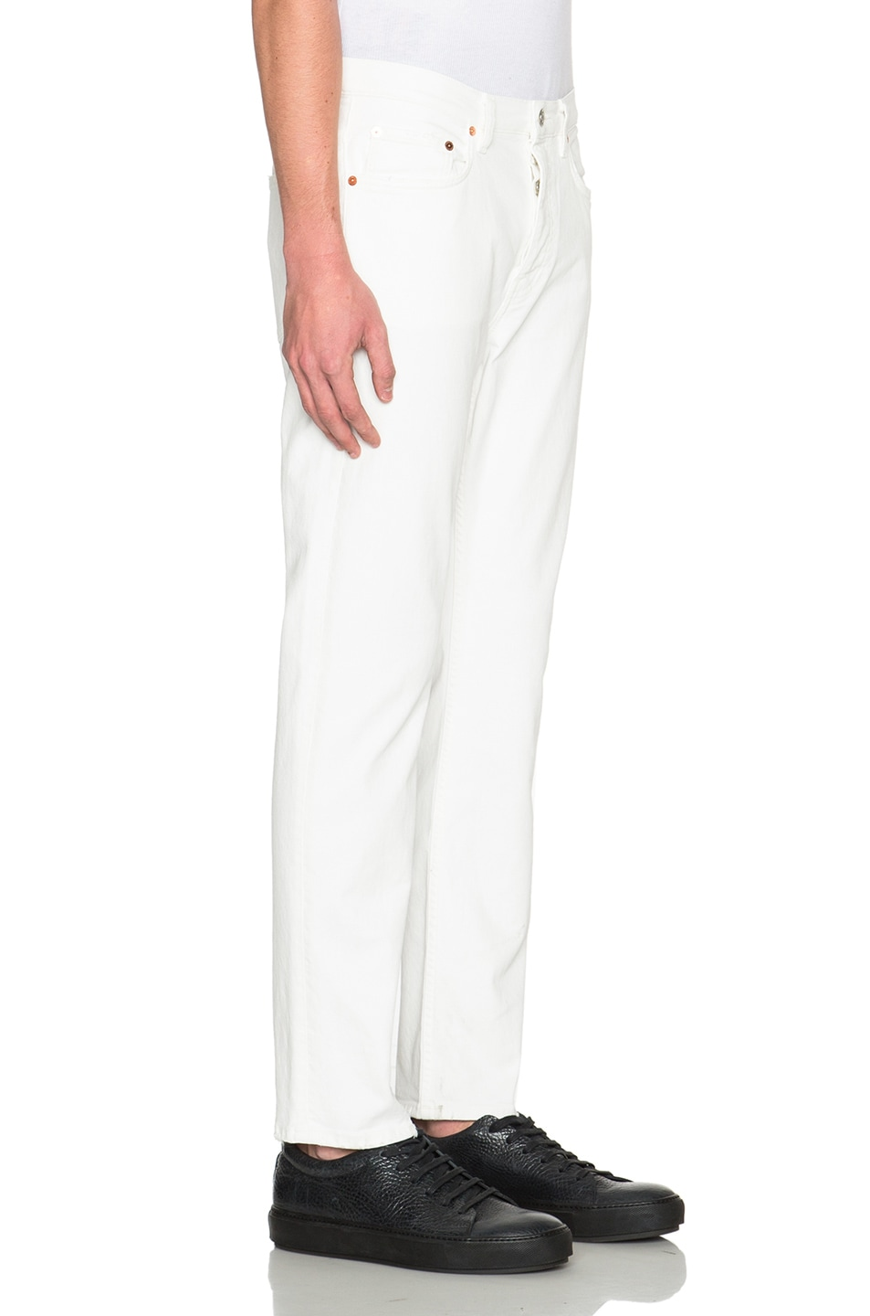 Image 3 of Acne Studios Town in White Vintage