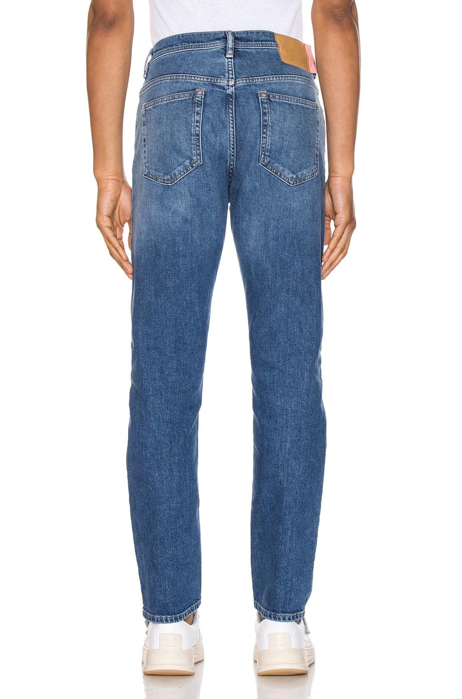 Image 3 of Acne Studios River Mid Blue 5 Pocket Denim Jeans in Length 34