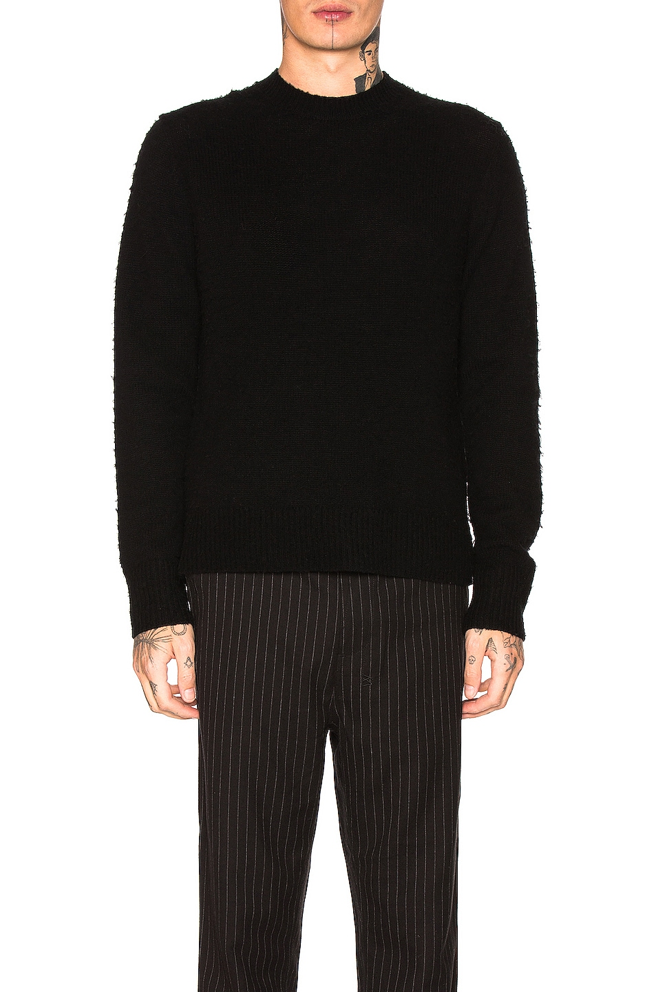 Image 1 of Acne Studios Peele Sweater in Black