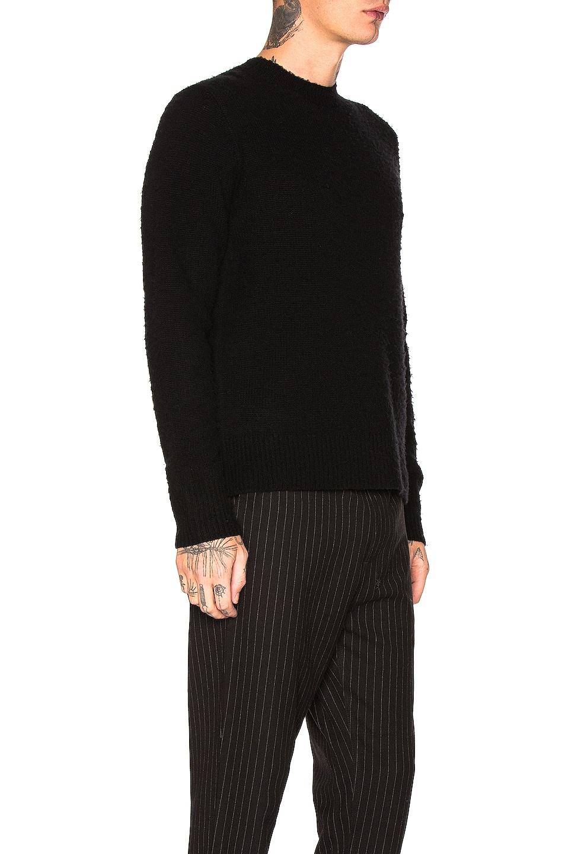 Image 2 of Acne Studios Peele Sweater in Black