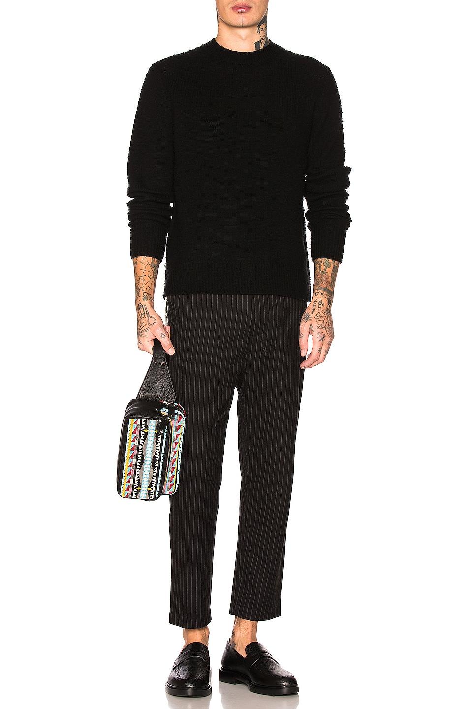 Image 4 of Acne Studios Peele Sweater in Black