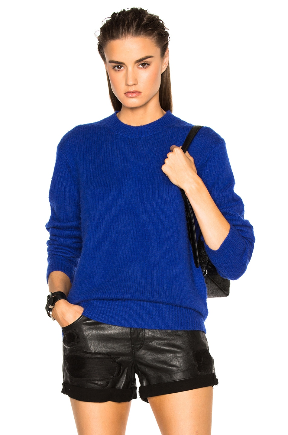 Acne Studios Peele Sweater in Electric Blue | FWRD