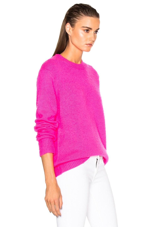 Fuschia Pink Sweater Her Sweater