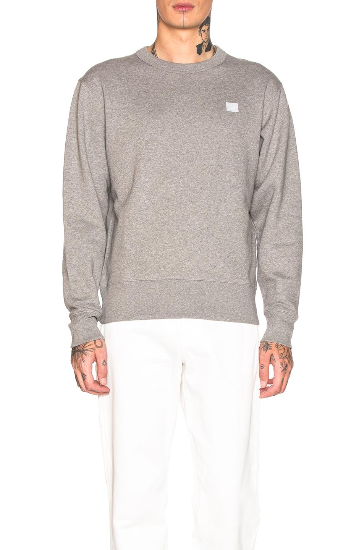 Image 1 of Acne Studios Sweatshirt in Light Grey Melange