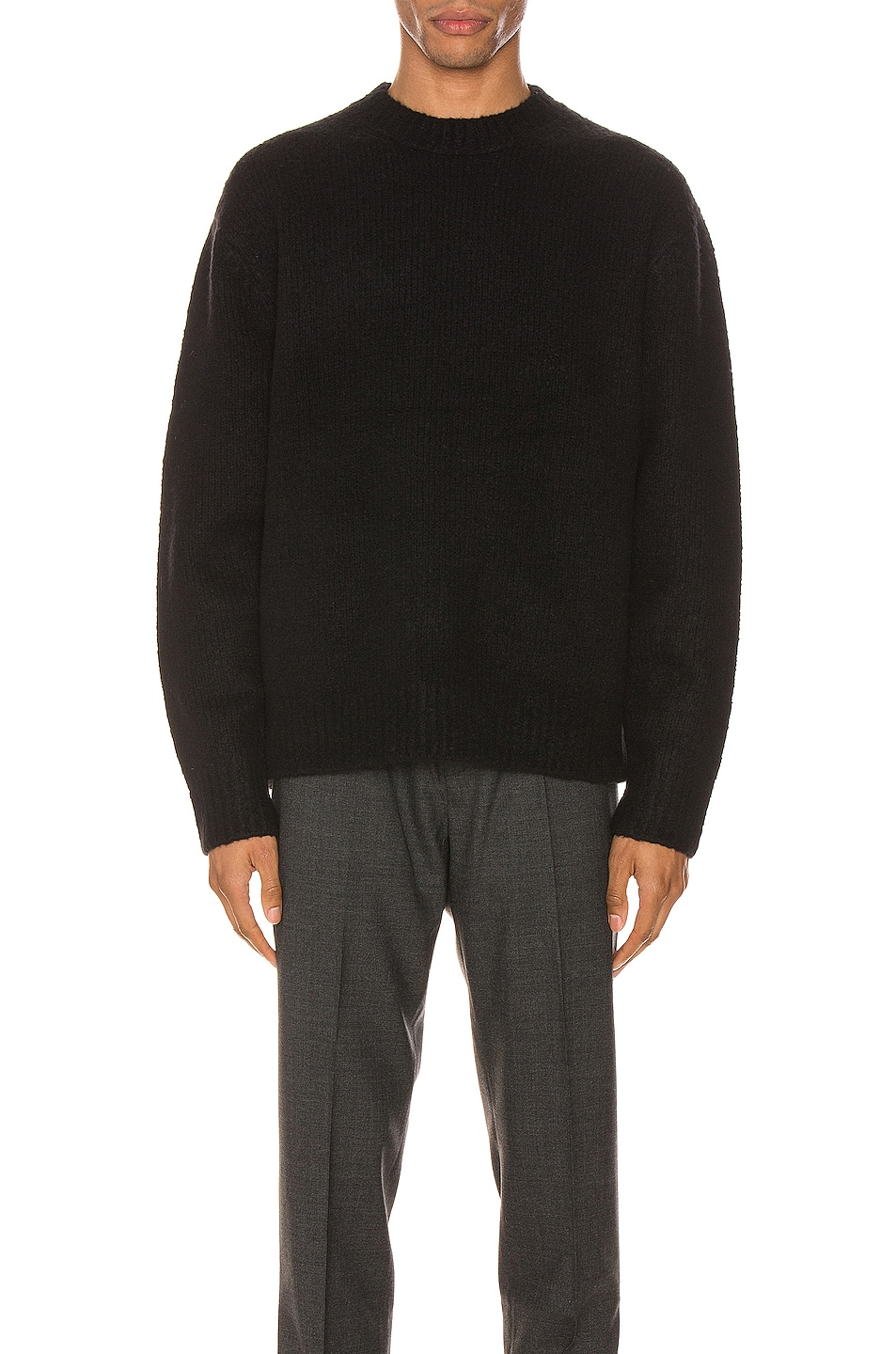 Image 1 of Acne Studios Kael Cashmix Pullover in All Black