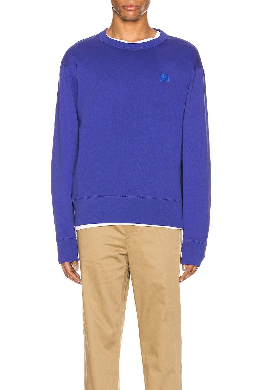 Image 1 of Acne Studios Sweatshirt in Electric Blue