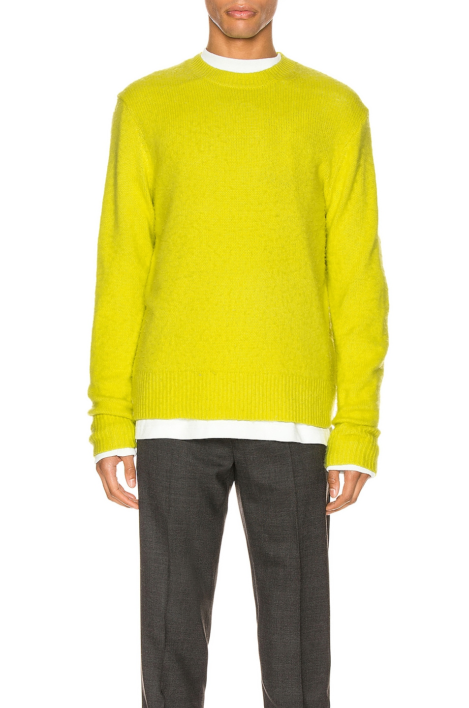 Image 1 of Acne Studios Pullover in Sharp Yellow