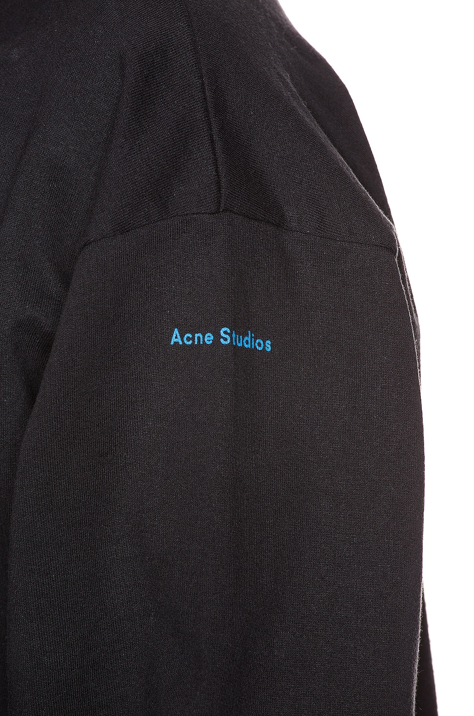 Image 6 of Acne Studios Forban Solstice Sweatshirt in Black