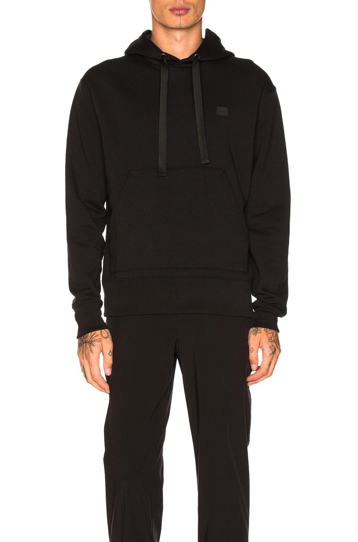 Image 1 of Acne Studios Ferris Face Hoodie in Black