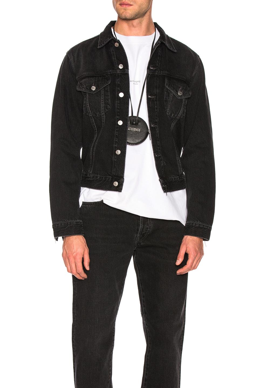 Image 1 of Acne Studios 1998 Metal Jacket in Used Black