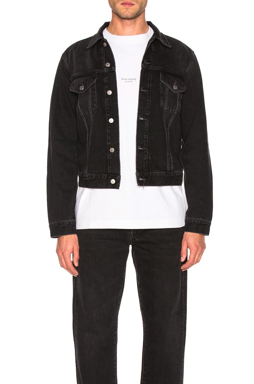 Image 2 of Acne Studios 1998 Metal Jacket in Used Black