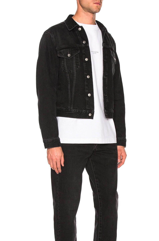 Image 3 of Acne Studios 1998 Metal Jacket in Used Black