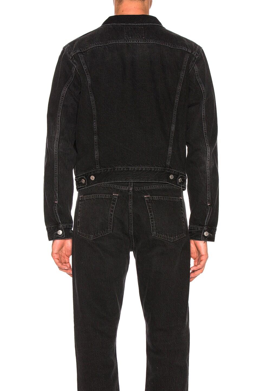 Image 4 of Acne Studios 1998 Metal Jacket in Used Black