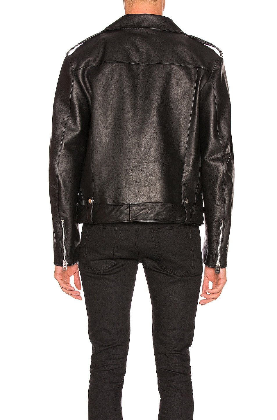 Image 4 of Acne Studios Leather Jacket in Black