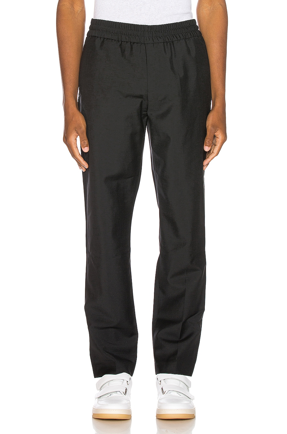 Image 1 of Acne Studios Ryder Cropped Trousers in Black
