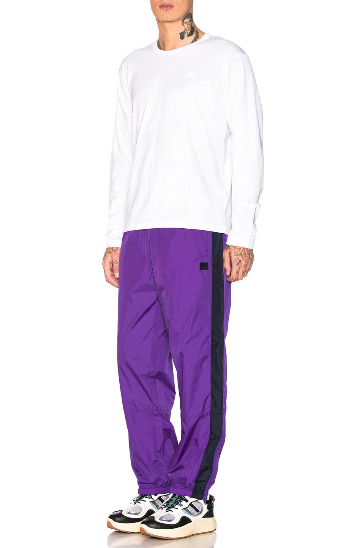 Acne Studios Phoenix Trousers Violet Purple outlet