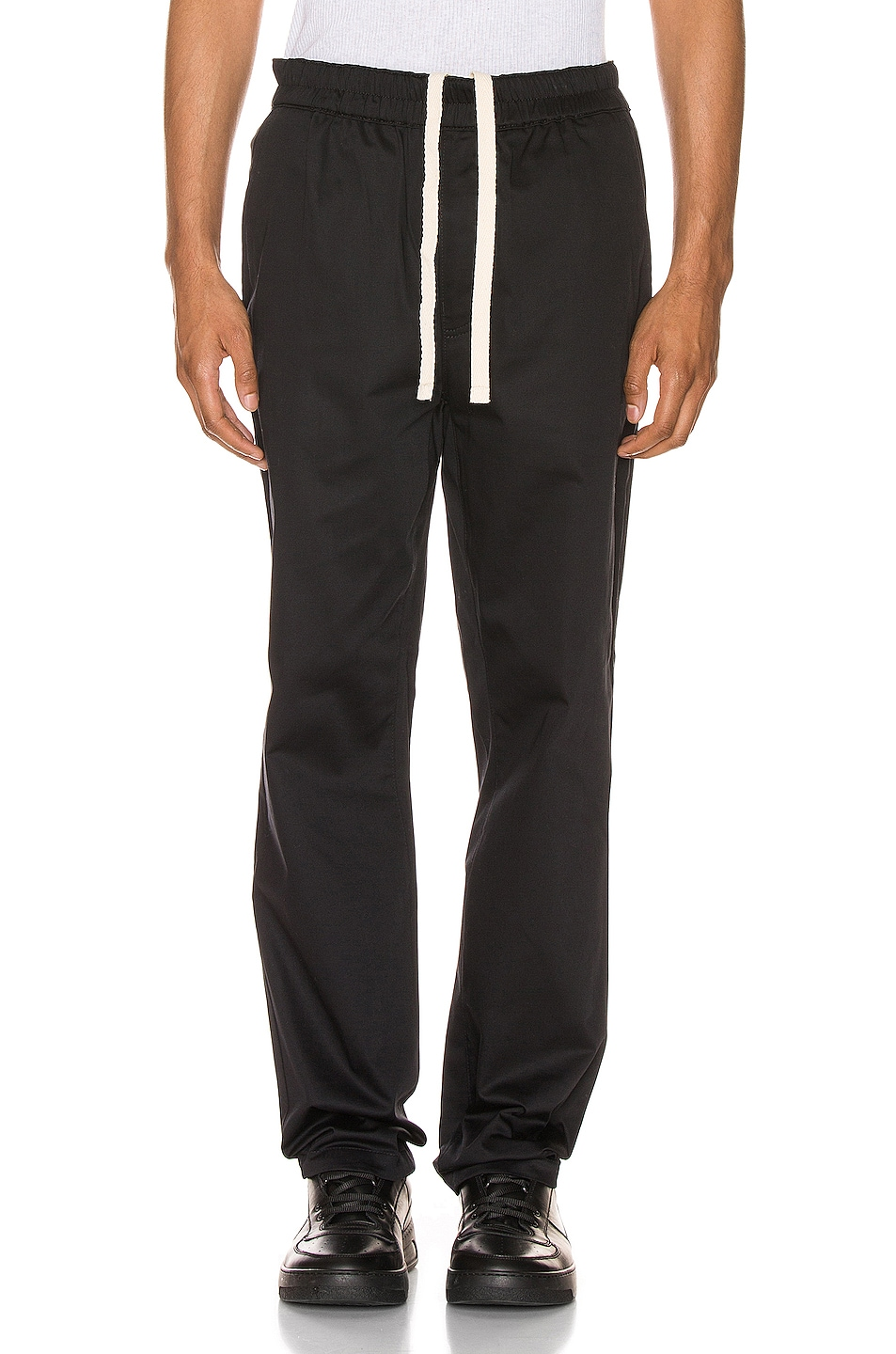 Image 1 of Acne Studios Paco Satin Trousers in Black