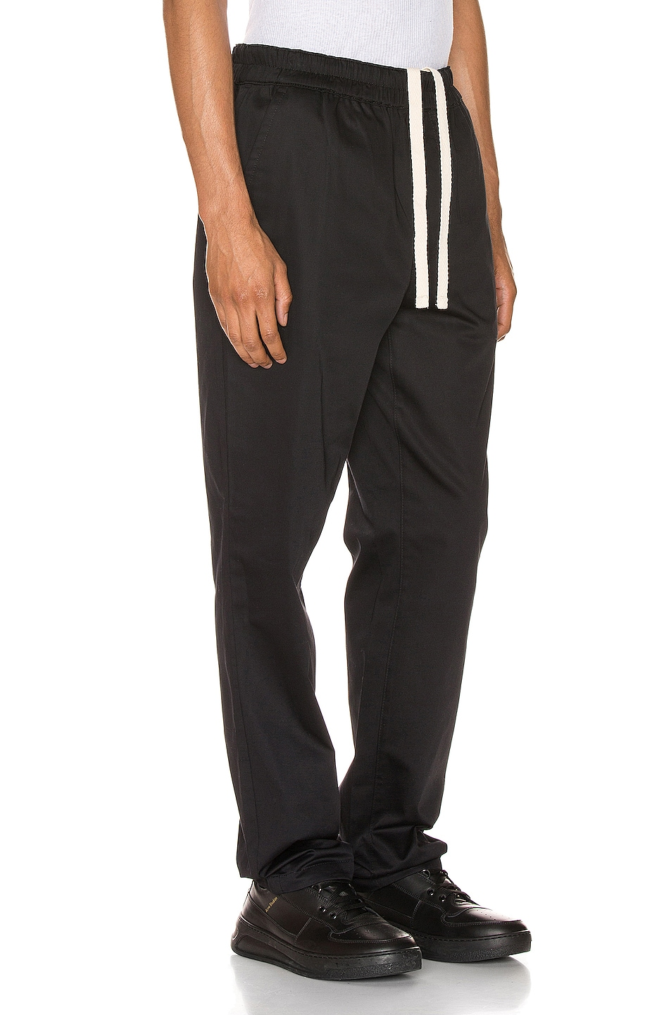 Image 2 of Acne Studios Paco Satin Trousers in Black