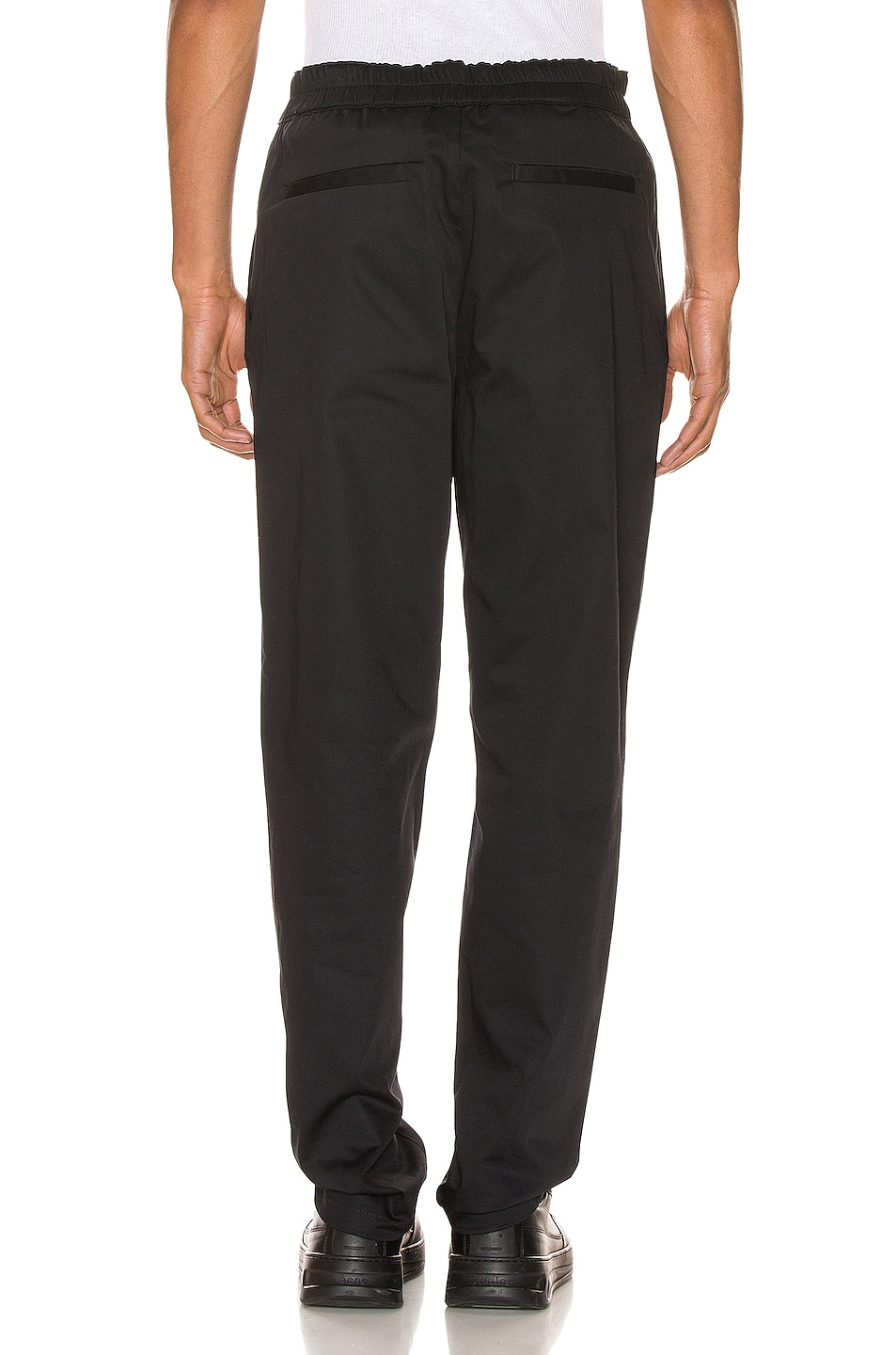 Image 3 of Acne Studios Paco Satin Trousers in Black