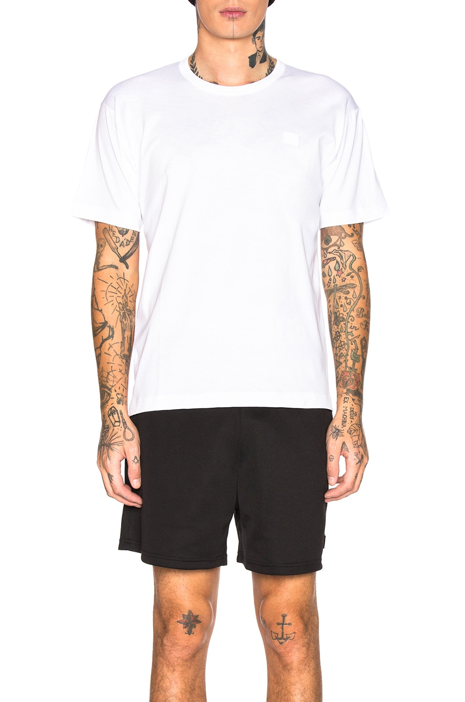 Image 1 of Acne Studios Tee in Optic White