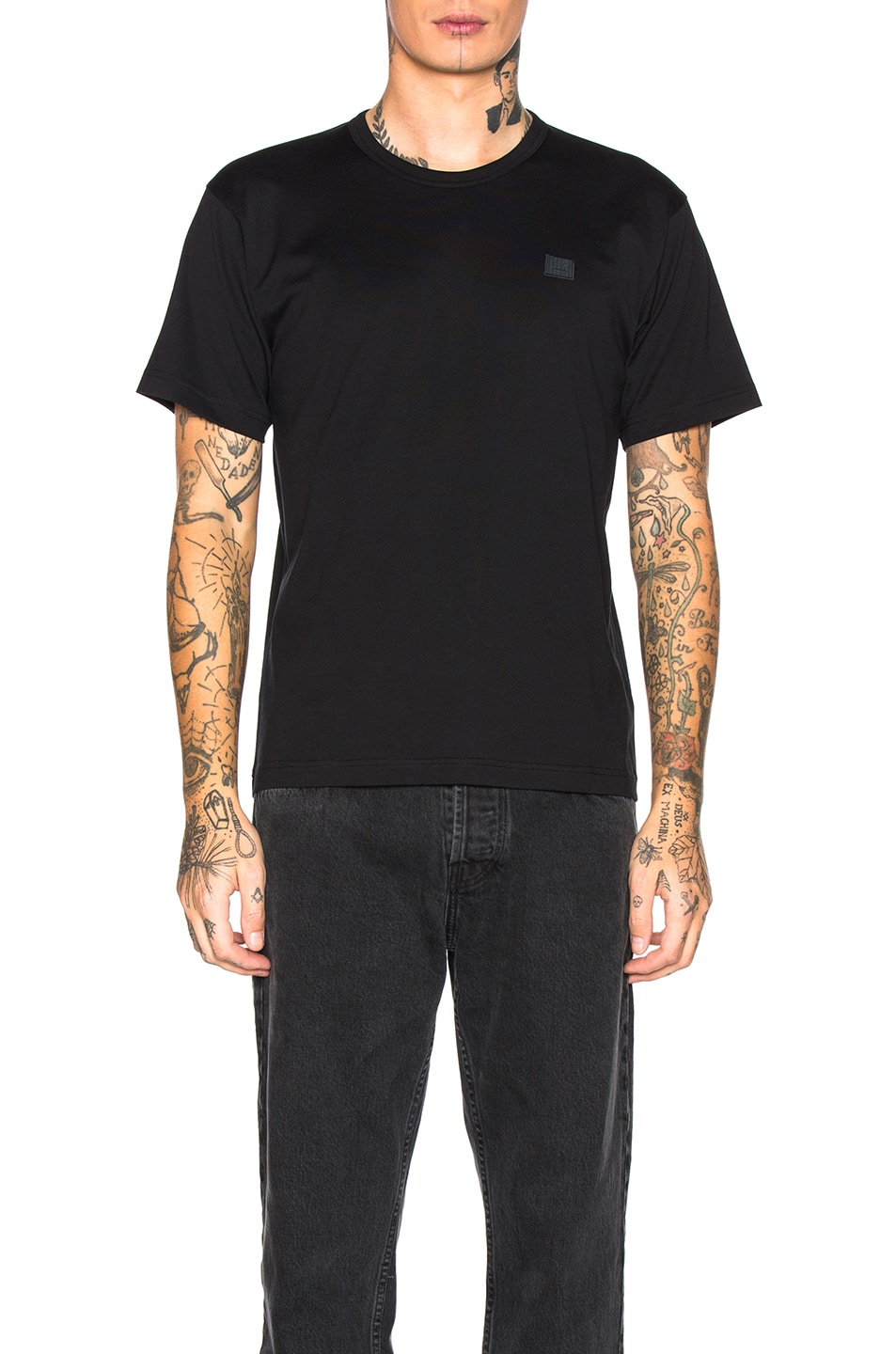 Image 1 of Acne Studios Tee in Black