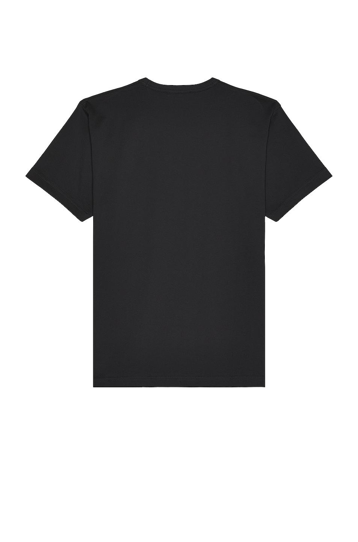 Image 2 of Acne Studios Nash Face Tee in Black